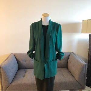 Zara Woman Green Blazer Size Medium